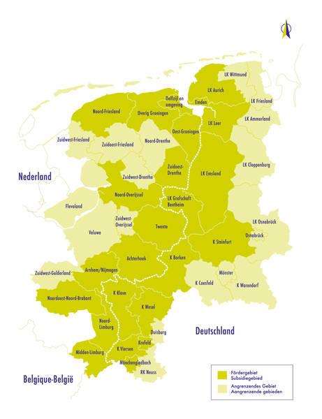 Interreg IVA-subsidie voor innovatieve activiteiten in Euregio Rijn-Waal